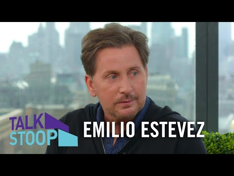Emilio Estevez on Why He Didn't Take The Sheen Last Name & 'Mighty Ducks' Popularity | Talk Stoop