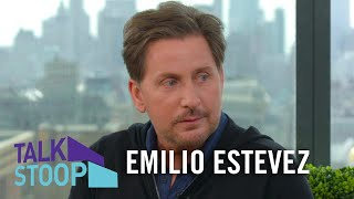 Emilio Estevez On Why He Didn't Take The Sheen Last Name & 'Mighty Ducks'Popularity | Talk Stoop