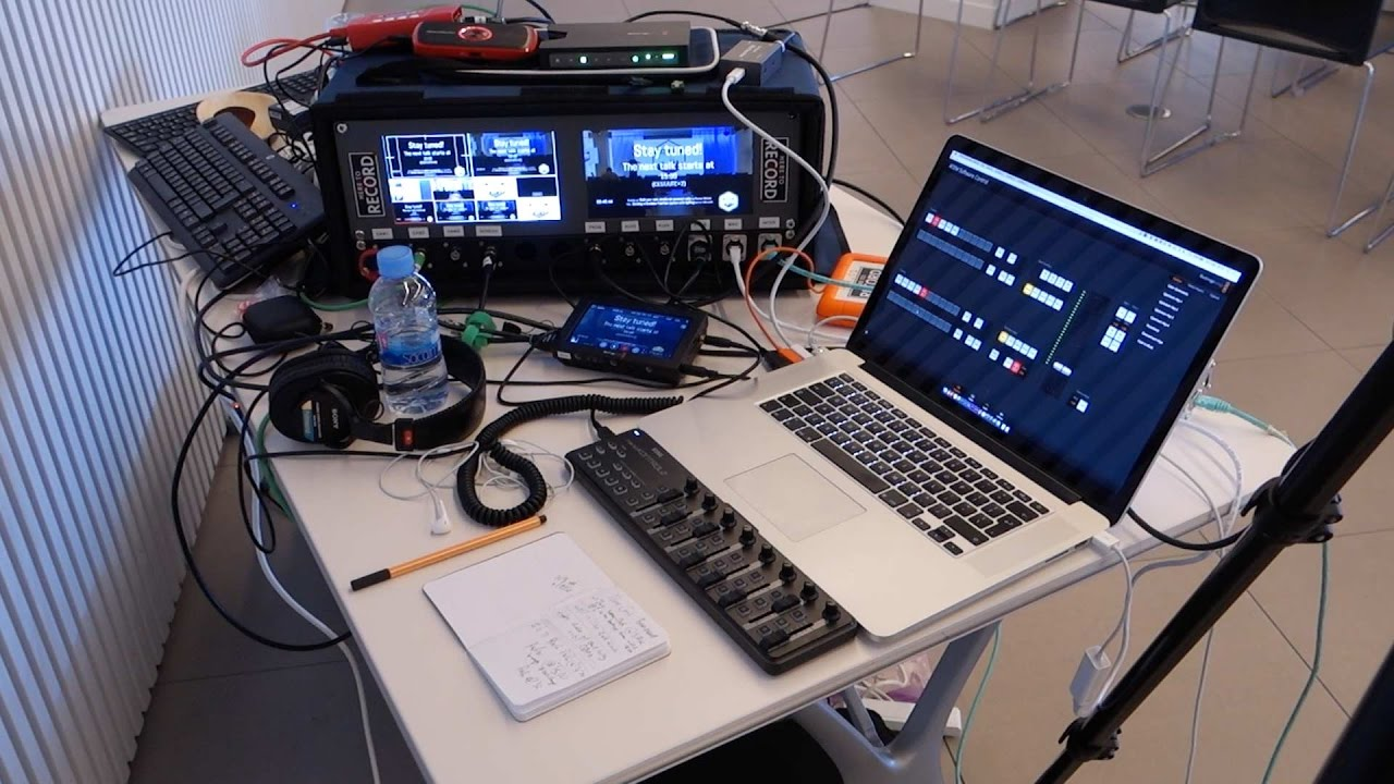 Full Conference Recording Setup Live Streaming And Live