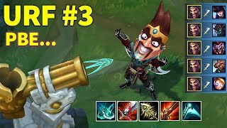 PERFECT URF MOMENTS #3 (PBE - URF Draven Pentakill, Full AP Jax...)