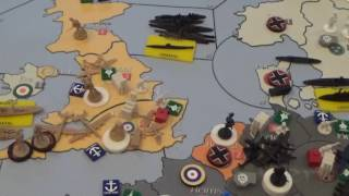 Axis and Allies Global 1939 End of Round One
