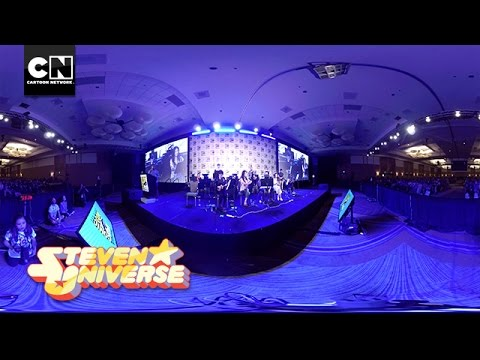Steven Universe | We Are The Crystal Gems | Live From SDCC | Cartoon Network