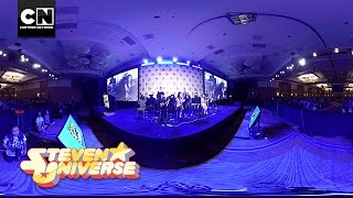 Repeat youtube video 360 Video: We Are The Crystal Gems | Steven Universe | Cartoon Network