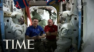 Space Station Astronauts On Loneliness & Crazy Work Schedule | Exclusive | TIME