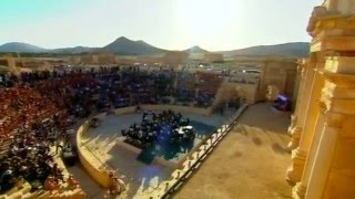 Russian orchestra performs in Syria's Palmyra