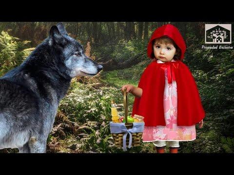 Caperucita Roja y El Lobo Feroz. Cuento Fabula Infantil en Español