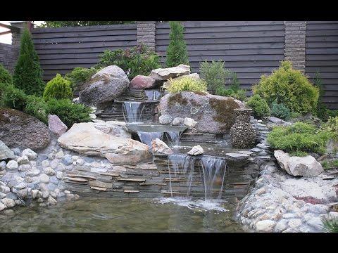 Изготовление декоративных водопадов и фонтанов.Бизнес идея