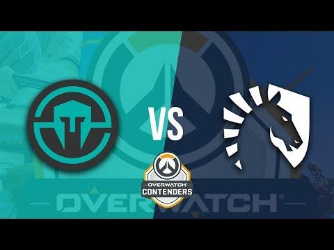 Immortals Vs Team Liquid | Clash Of The Genjis - Overwatch Contenders Season Zero NA Highlights