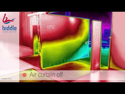 Biddle CA2 Air Curtain Thermography