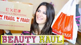 HUGE Beauty Haul: Mimika - Lidherma - Exel - Mambo (Argentina)