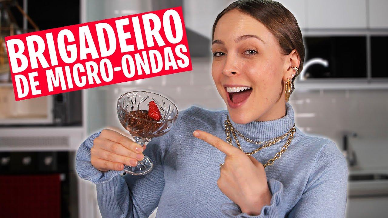 BRIGADEIRO DE MICRO-ONDAS - #ReceiTata