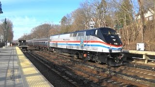 Metro North & Amtrak Railfanning At Philipse Manor / Lots Of Horns (Read Desc)