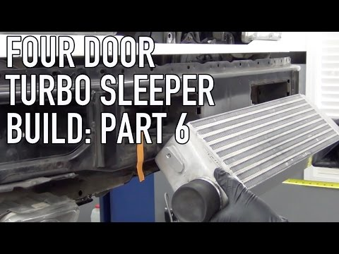 Project Street Sleeper Part 6: Front Mount Intercooler Install