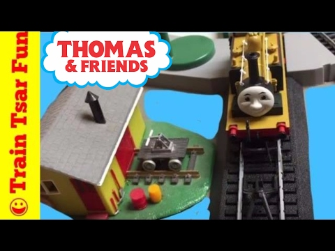 GANDY DANCER by TIDMOUTH SHEDS Plus Random Thomas & Friends Train Crashes