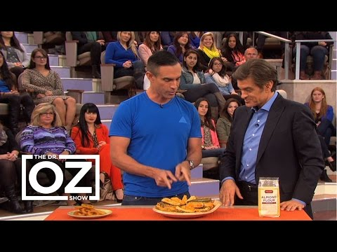 Jorge Cruise and Dr. Oz Talk About Carb Swapping