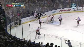 Sven Baertschi slapshot goal 1-1 April 25 2013 Calgary Flames vs St. Louis Blues NHL Hockey