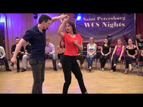 Semion Ovsiannikov & Olga Usmanova Saint Petersburg WCS Nights 2017 JnJ All Star 1st