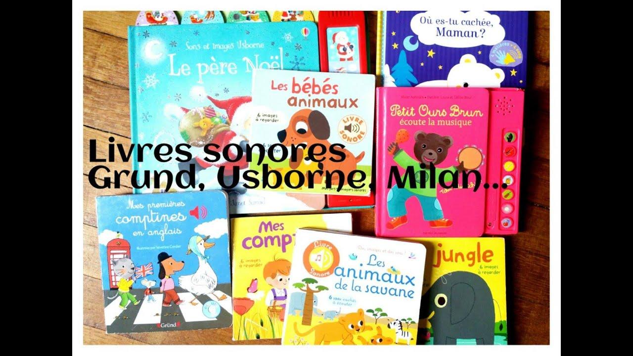 Livres Sonores Gallimard Grund Usborne Petit Ours