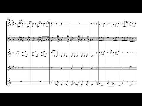Horn Concerto No3 (Mozart) 3rd movement - brass quintet