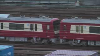 【甲種輸送】ステンレス塗装車登場・京急新1000形1613編成