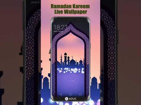 APUS Ramadan Kareem Live Wallpaper 20sIndonesia Available