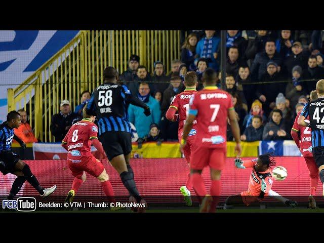 2014-2015 - Jupiler Pro League - 24. Club Brugge - KV Oostende 2-0