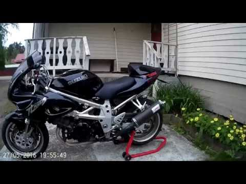 Suzuki TL1000S with Bos Exhaust