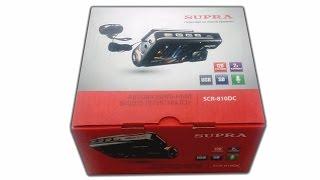 видеорегистратор supra scr 810dc