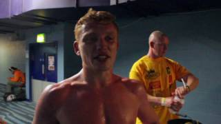 DALE COYNE post fight interview after first 6-rounder against Adam Jones