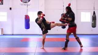 Basic Muay Thai Combination