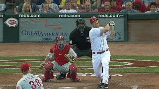 Scott Rolen's 300th homer gives the Reds a lead