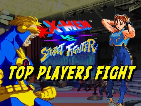 PRO PLAYER FIGHTS: X-Men Vs. Street Fighter (Online Matches)