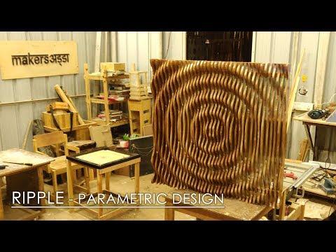 RIPPLE - PARAMETRIC DESIGN (Wall Panel)