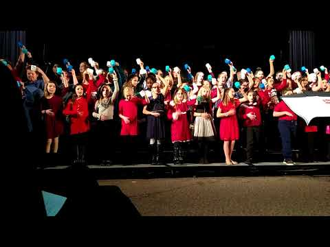"""Olivia's #Paxtonia elementary School 2017 winter concert """"Hot Hot Hot Chocolate"""""""