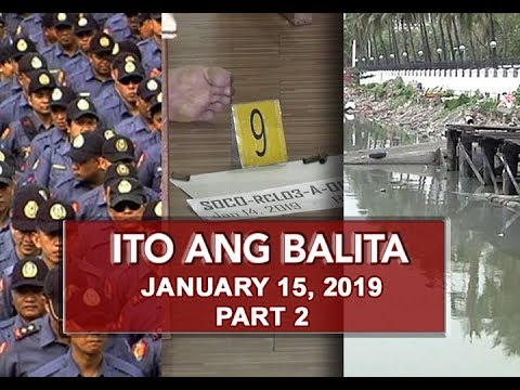 UNTV: Ito Ang Balita (January 15, 2019) PART 2