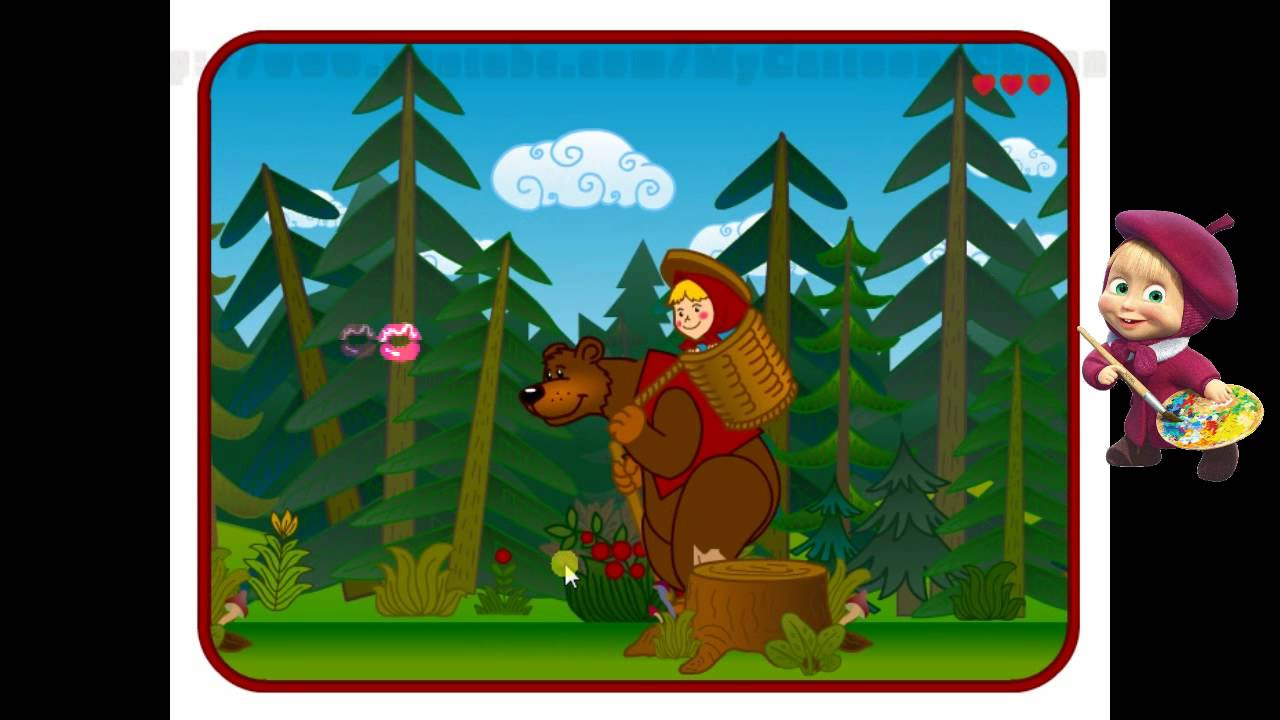 New Video Game Marsha and Bear 2014