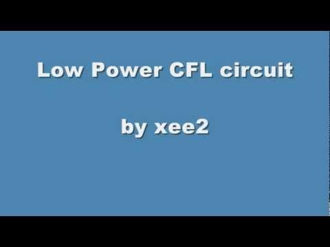 low power CFL circuit
