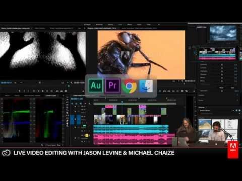 Live Video Editing 3/3 | Adobe Creative Cloud