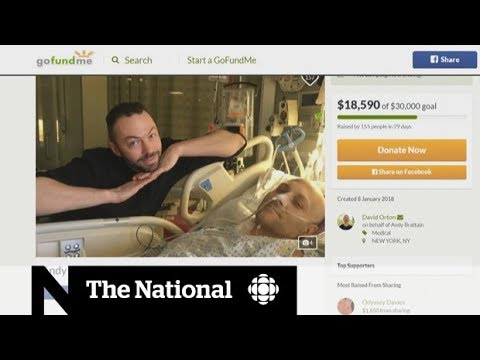 Crowdfunding a crutch for medical costs, but no cure