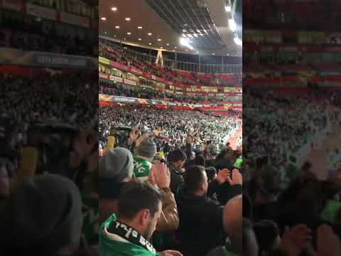Arsenal vs SPORTING 8/11/18 - 5500 Leões abafaram Ingleses 💚 SPORTING CP 💚