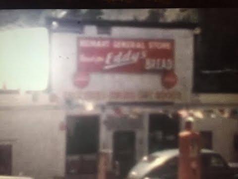 Neihart Montana Circa 1950 - Downtown in Summer and Neihart Floods
