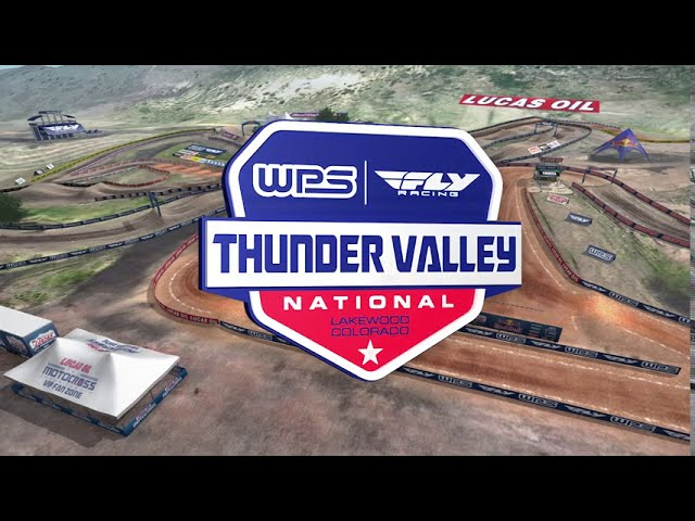 Lucas Oil Motocross Thunder Valley Track Map!