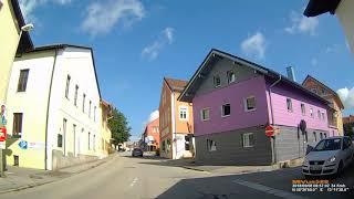 D: Stadt Bad Griesbach i.Rottal. Landkreis Passau. Rundfahrt durch den Ort. September 2018