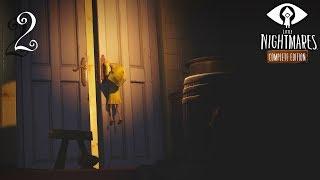 Little Nightmares прохождение на геймпаде часть 2 Убегаем от длиннорукого маньяка