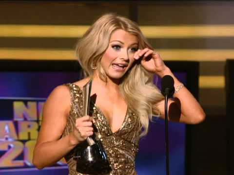 Rock of Ages Star Julianne Hough Wins Top New Artist - ACM Awards 2009