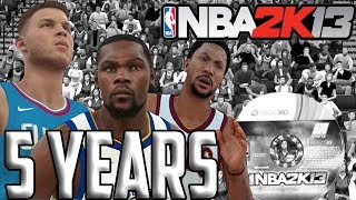 NBA 2K13 5 Years Later...