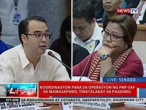 NTVL: Sagutan ni Senador Cayetano at General Galvez tungkol sa coordination sa MILF