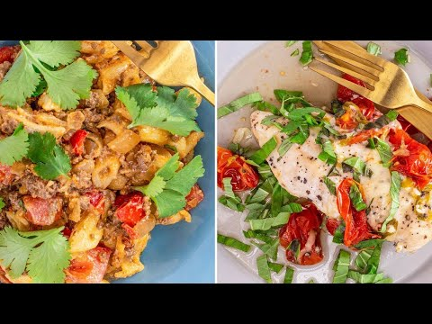 How to Make Instant Pot Taco Mac and Cheese + Bruschetta Chicken