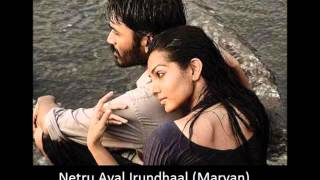 Netru Aval Irundhaal (Maryan) Keyboard & Vocal Cover