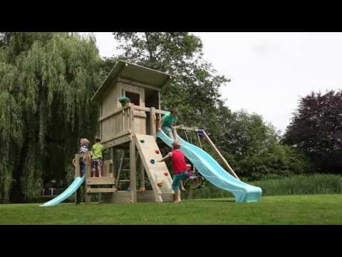 Blue Rabbit 2.0 - residential play towers, climbing frames and swings